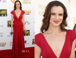 Juliette Lewis In Zac Posen - 2014 Critics' Choice Movie Awards