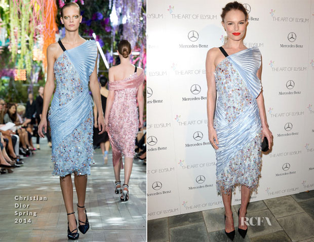 Kate Bosworth In Christian Dior - Art of Elysium Heaven Gala