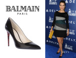 Kate Walsh's Balmain Contrast Heel Pumps