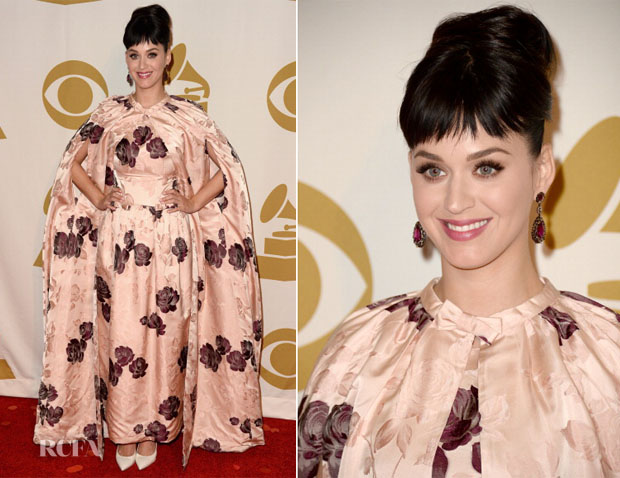 Katy Perry In Dolce & Gabbana - The Night That Changed America A Grammy Salute To The Beatles