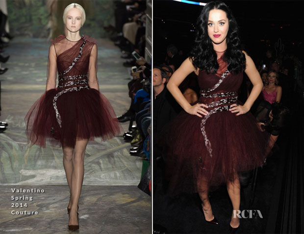 Katy Perry In Valentino Couture - 2014 Grammy Awards Audience