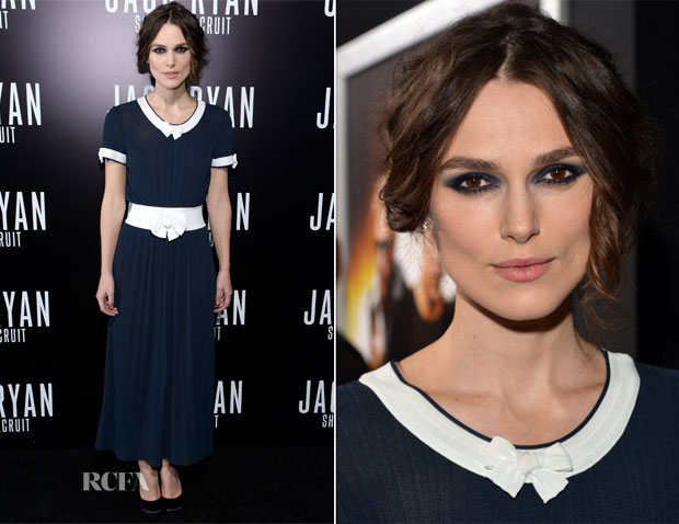Keira Knightley In Chanel - 'Jack Ryan Shadow Recruit' LA Premiere