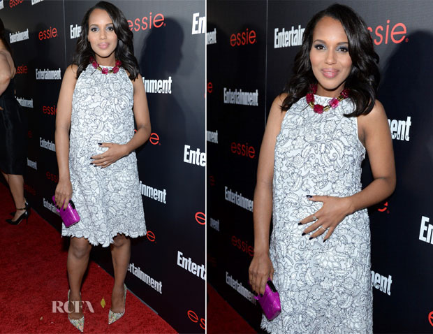 Kerry Washington In Tory Burch - Entertainment Weekly's SAG Awards Nominees Party