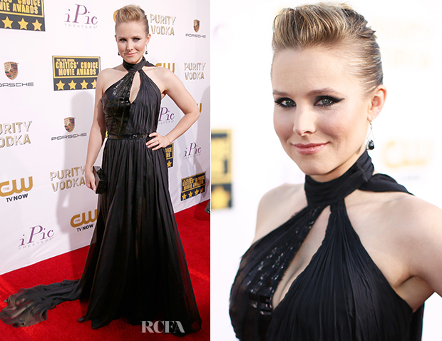 Kristen Bell In Pamella Roland - 2014 Critics' Choice Movie Awards