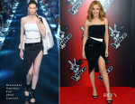 Kylie Minogue In Alexandre Vauthier Couture - 'The Voice UK' Photocall