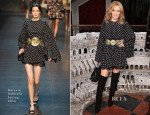 Kylie Minogue In Dolce & Gabbana - Dolce & Gabbana London Collections: Men Event