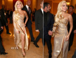 Lady Gaga In Perry Meek - HBO's Golden Globe Awards After-Party