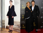 Lara Bingle In Ellery & Sam Worthington In Louis Vuitton - 3rd Annual AACTA Awards