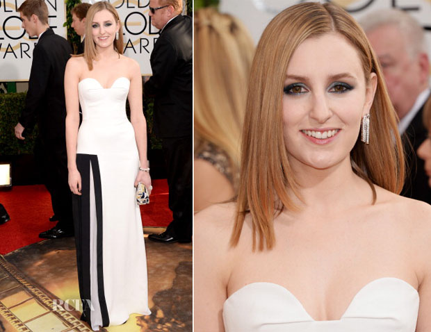 Laura Carmichael In Viktor & Rolf - 2014 Golden Globes Awards