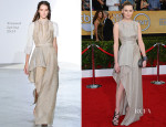 Laura Carmichael In Vionnet - 2014 SAG Awards
