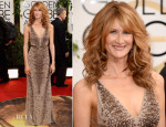Laura Dern In Roberto Cavalli - 2014 Golden Globe Awards