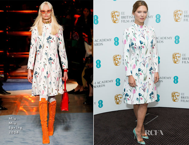 Lea Seydoux In Miu Miu - EE Rising Star Award Photocall