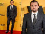 Leonardo DiCaprio In Giorgio Armani - 'The Wolf Of Wall Street' London Premiere