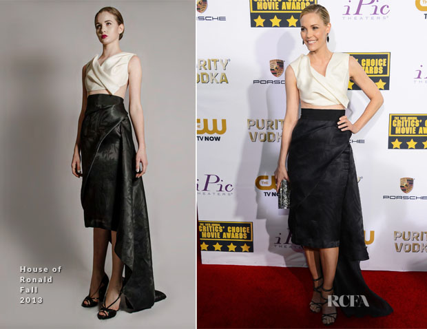 Leslie Bibb In House of Ronald – 2014 Critics' Choice Movie Awards