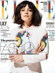 Lily Allen for Elle UK March 2014