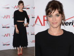 Lizzy Caplan In Houghton - AFI Awards 2014