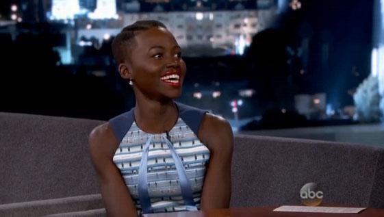 Lupita Nyong'o In Jonathan Cohen – Jimmy Kimmel Live