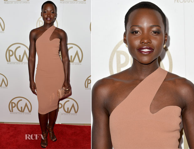 Lupita Nyong'o In Stella McCartney - 2014 Producers Guild of America Awards