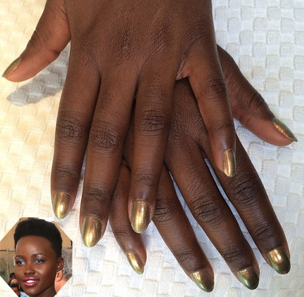 Lupity Nyong'o -- SAG Awards Manicure copy