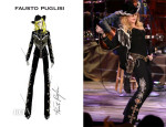 Madonna In Fausto Puglisi - Miley Cyrus: MTV Unplugged