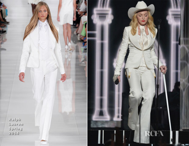 Madonna In Ralph Lauren - 2014 Grammy Awards Performance