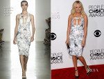 Malin Akerman In Cushnie Et Ochs - 2014 People's Choice Awards