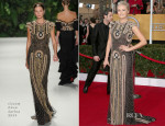 Malin Akerman In Naeem Khan – 2014 SAG Awards
