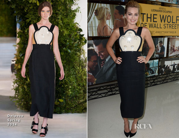 Margot Robbie In Delpozo - 'The Wolf Of Wall Street' Australians In Film Screening
