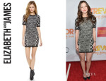 Melissa Benoist's Elizabeth and James 'Agron' Dress