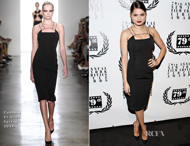 Melonie Diaz In Cushnie Et Ochs - New York Film Critics Circle Awards