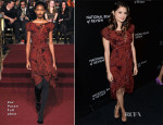 Melonie Diaz In Zac Posen - 2014 National Board Of Review Awards Gala