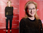 Meryl Streep In Michael Kors - 2014 Palm Springs International Film Festival Awards Gala