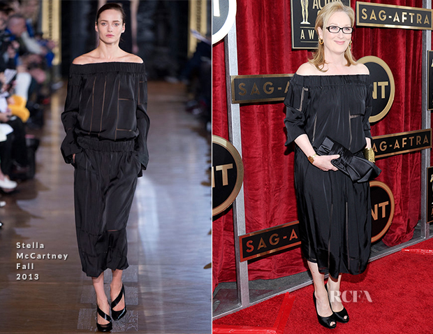 Meryl Streep In Stella McCartney - 2014 SAG Awards