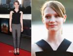 Mia Wasikowska In Roland Mouret - 'Tracks' Openair Cinema Premiere