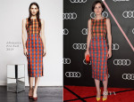 Michelle Dockery In Altuzarra - Audi Celebrates The 2014 Golden Globes Weekend