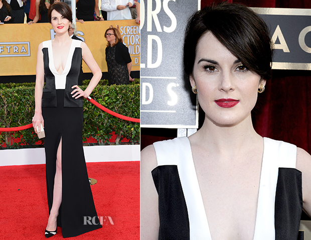 Michelle Dockery In J. Mendel - 2014 SAG Awards