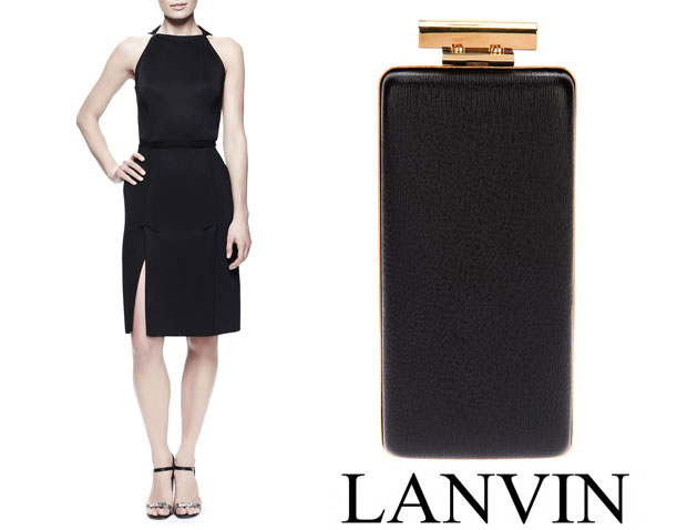 Michelle Dockery in Lanvin