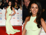 Michelle Keegan In Philip Armstrong Atelier - National Television Awards 2014