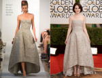 Michelle Dockery In Oscar de la Renta – 2014 Golden Globe Awards