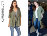 Minka Kelly's Current/Elliott 'The Infantry' Jacket