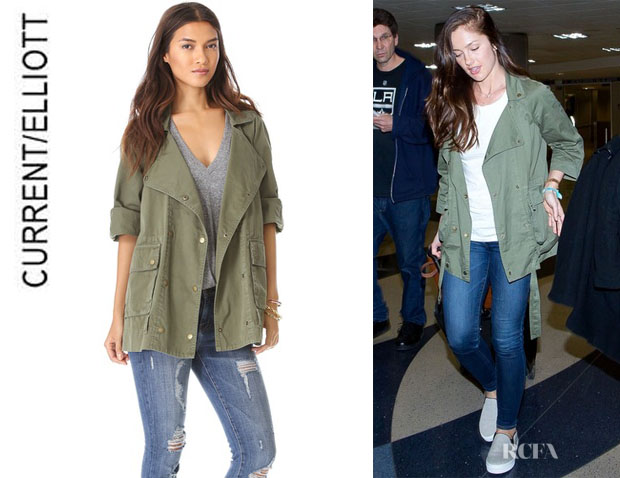 Minka Kelly's CurrentElliott 'The Infantry' Jacket
