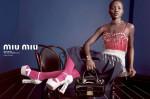 Lupita Nyong'o, Elle Fanning, Elizabeth Olsen & Bella Heathcote for Miu Miu Spring 2014