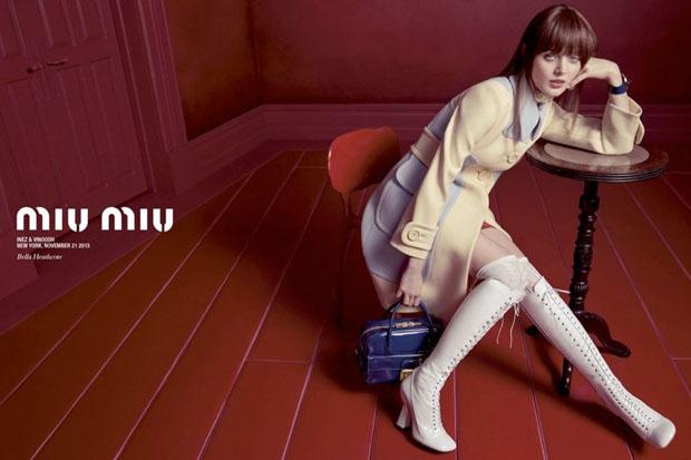 Miu Miu Spring 2014 ad campaign (3)