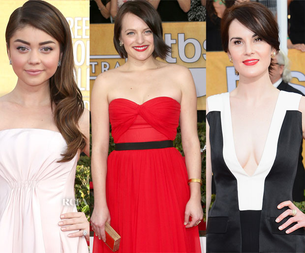 Nail Trend Spotting - 2014 SAG Awards Chic Naturals