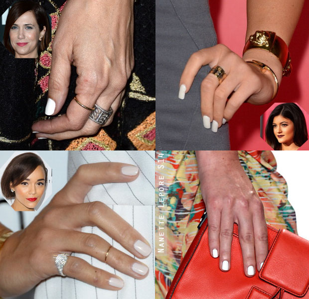 Nail Trends Spotting Chic White Manicures