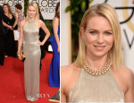 Naomi Watts In Tom Ford - 2014 Golden Globe Awards