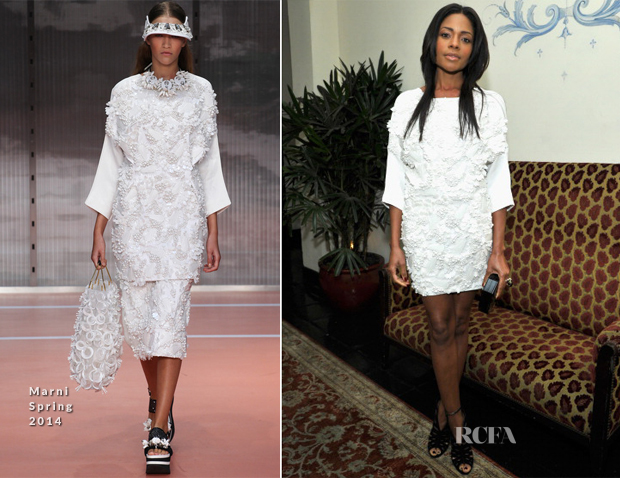 Naomie Harris In Marni - W Magazine 'Best Performances' Portfolio Celebration