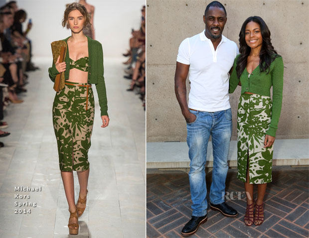 Naomie Harris In Michael Kors - 25th Annual Palm Springs International Film Festival