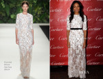 Naomie Harris In Naeem Khan - 2014 Palm Springs International Film Festival Awards Gala