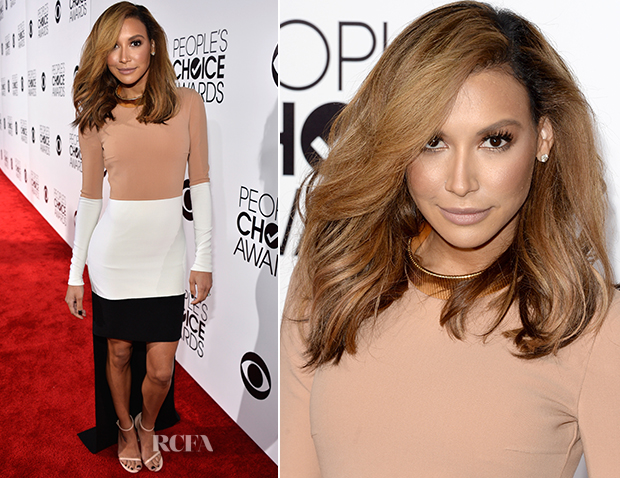Naya Rivera In Michael Kors Resort 2014